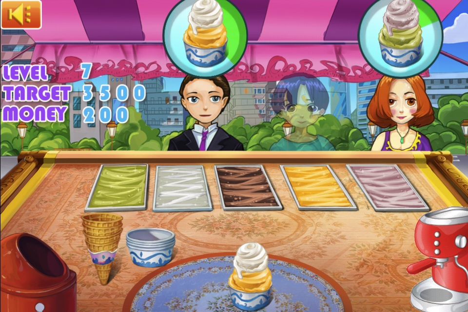 Screenshot Anna's Ice-Cream Shop HD
