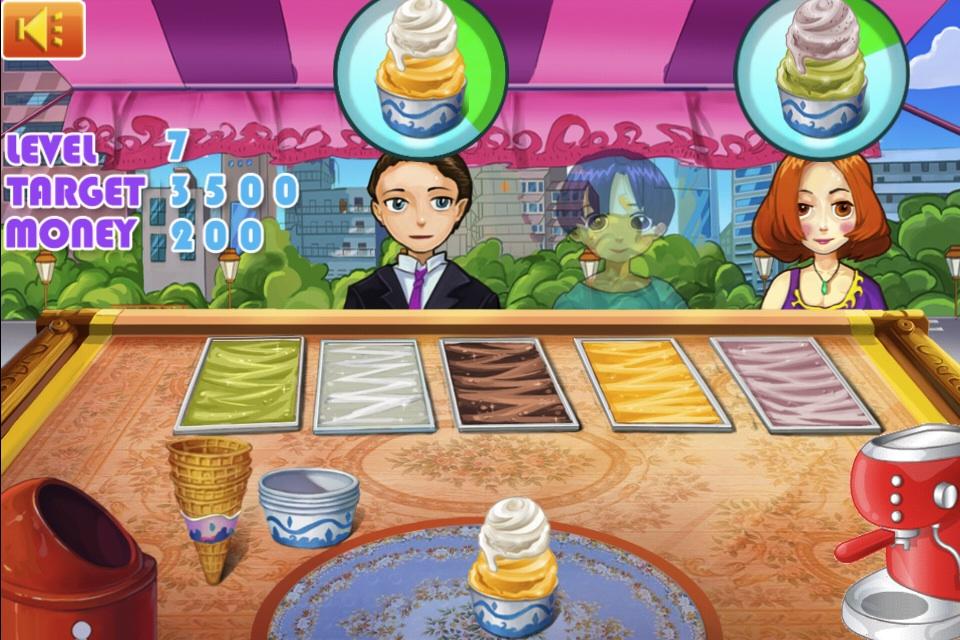 Screenshot Anna's Ice-Cream Shop HD