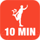 10 Minute Stretch Calisthenics Challenge : Full Fitness exercise workout trainer and fitness buddy,
